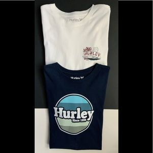 Hurley Men's Premium T-Shirts Bundle Of Two